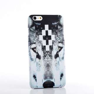 Marcelo Burlon Wolf Cover for Apple iPhone