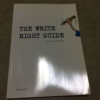The Write Right Guide
