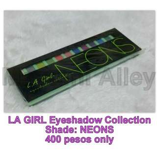 LA GIRL Eyeshadow Palette - NEONS