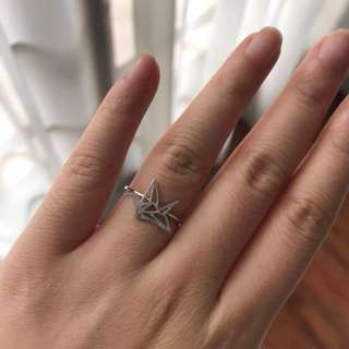 Origami Silver Rings & Bow Silver Rings