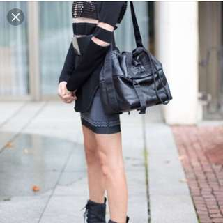 Alexander Wang x H&m bucket bag