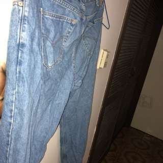 vintage levi's jeans denim men's w40 l30