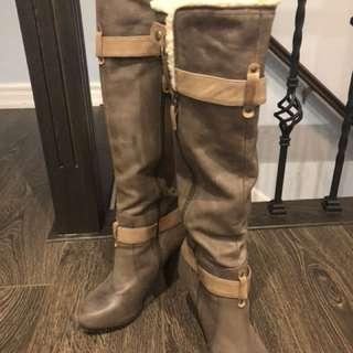 Brand new Aldo high heel boots