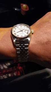 Rolex Datejust White Gold Roman Dial 36mm