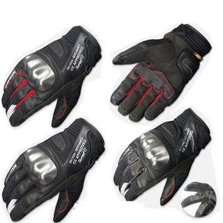 Komine GK817 GK-817 waterproof racing touring leather gloves