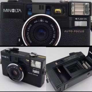 Minolta Himatic AF2 Film compact camera