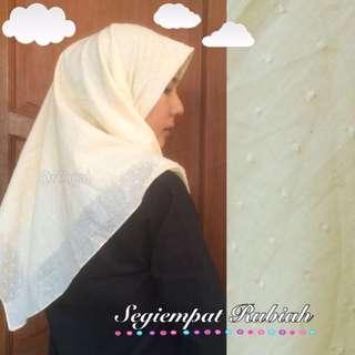 New! Jilbab Segiempat Rubiah