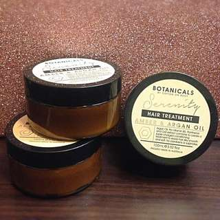 Hair Treatment Cream - Amber And Argan Oil