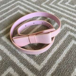 Rock Your Kid Pink Bow Belt