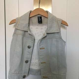 Minti Wild One Denim Vest