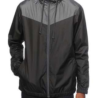 In Stock - Fashionable Lightweight Windbreaker with Hoodie