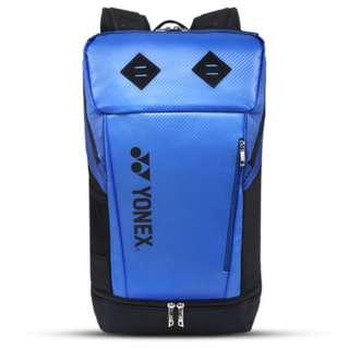 [READY STOCK] - YONEX BADMINTON BAG BACKPACK SUNR 2712G-SR (BLUE BLACK)