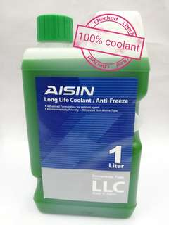 Aisin Coolant green