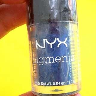 NYX Pigments (Eyeshadow Glitter)
