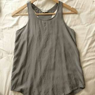 S Club Monaco Silk Tank Top