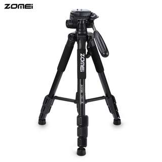 ZOMEI Q111 56 INCH LIGHTWEIGHT PROFESSIONAL CAMERA VIDEO (BLACK) 10.50 x 10.50 x 50.50 cm