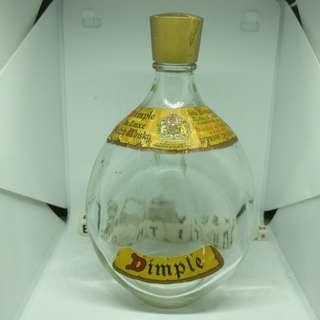 John Haig Dimple Vintage Empty Bottles