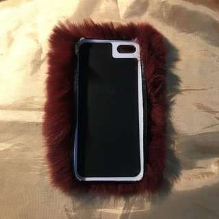 Iphone5 case furry