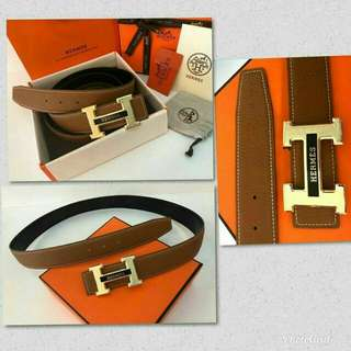 Hermes Belt original leather full set packing