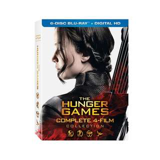 The Hunger Games Trilogy Blu Ray: Complete 4 Film Collection. Jennifer Lawrence Katniss Everdeen