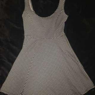 Polka dot vintage cocktail dress