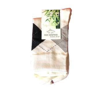 Unisex Business Casual Bamboo Fiber Socks AnyDesign (1 Pair)