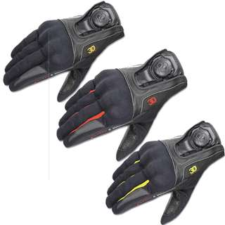 Authentic Komine GK164 GK-164 waterproof racing touring leather gloves