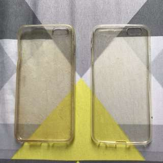 Casing iphone 6 plus transparan gratis