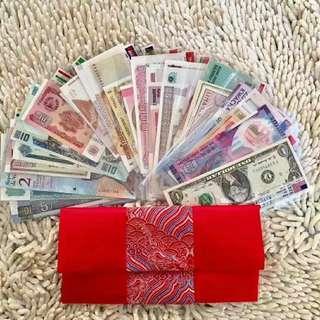 多國家錢壓歲錢