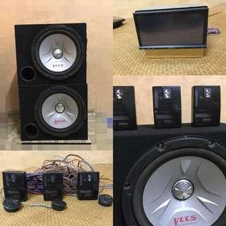 Woofer/audio