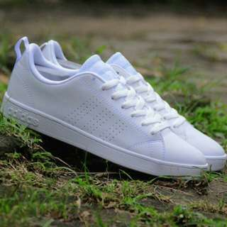 (REPRICE) Adidas Neo Advantage Clean (Full White)