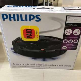 Philips robot vacuum cleaner