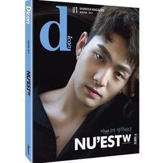 [WTS]  NU'EST W Wonderful Day and Night (Baekho Cover) + Pre-Order Gifts