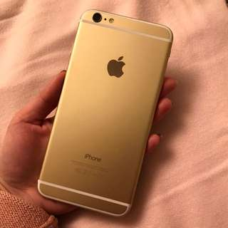 Unlocked gold iPhone 6 128GB