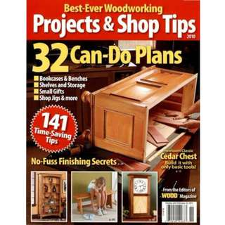 Best Ever Woodworking Project & Shop Tricks