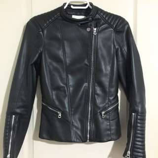 PRICE DROP:  Brand New Faux Leather Jacket
