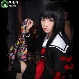 COSPLAY Jigoku Shōjo Ai Kimono Hell Girl (uniform ver.)
