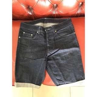 Tsubi Dark Denim Shorts