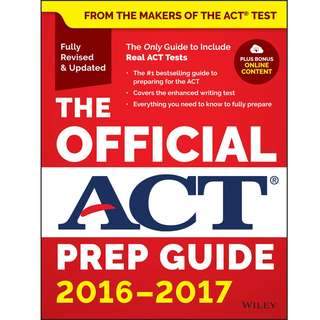 The Official ACT Prep Guide - 2016-2017