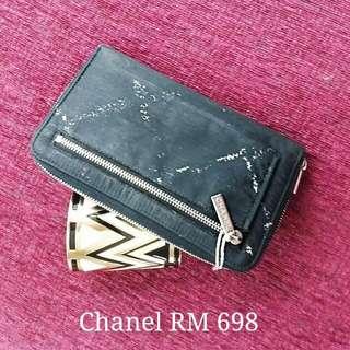 Chanel Zip Around Wallet