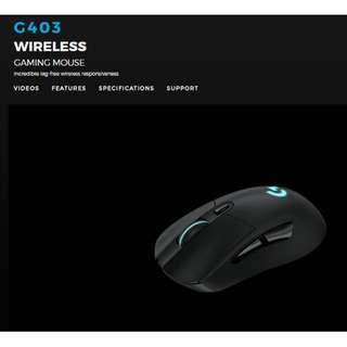 Logitech G403 PRODIGY Wireless Gaming Mouse ( 2 yrs Warranty )