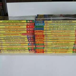Lots of Geronimo Stilton ($4 each)