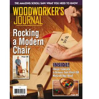 Woodworkers Journal February 2018