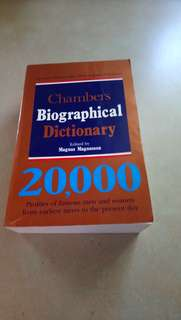 Biological dictionary