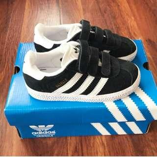 Adidas Gazelle Black Size 20-25