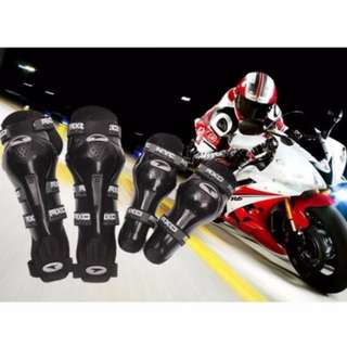 Axo Motorcycle Racing Riding Knee & Elbow Guard Pads protector Gear