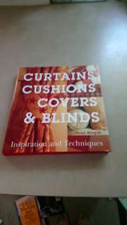 Curtains cushion covers ect