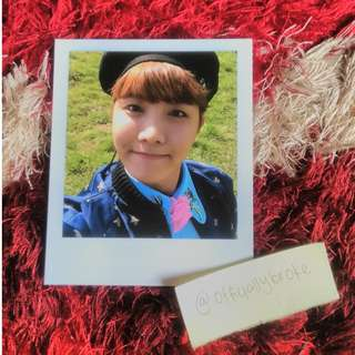 BTS JHOPE PHOTOCARDS