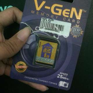 Memory card vgen 8GB