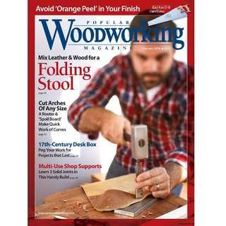 Magazine Popular Woodworking February 01_2018